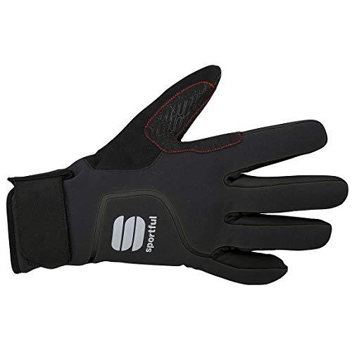 Sportful Sotto Zero - Guantes, Color Negro, Color Negro, tamaño Small