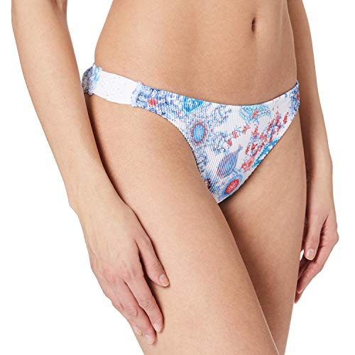 Desigual Womens Biki_Niza B Bikini Bottoms, White, XL