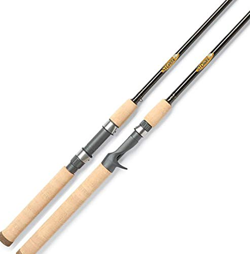 St. Croix TRC86MHF2 Triumph Salmon and Steelhead Graphite Casting Fishing Rod with Cork Handle, 8-feet 6-inches