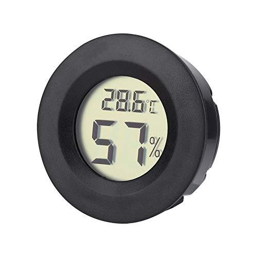 Atyhao Luftbefeuchter Luftfeuchtigkeitsmesser, Mini Hygrometer Thermometer Digital LCD Monitor für Luftbefeuchter Luftentfeuchter Gewächshaus Keller Babyzimmer Fahrenheit oder Celsius