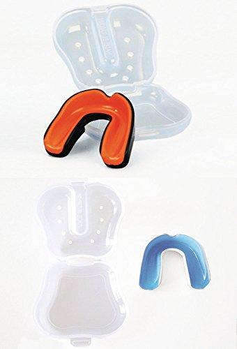 Mundschutz für Erwachsene mit Box in orange