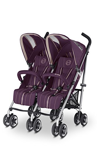 Photo de cybex-twinyx-poussette-princess-pink-violet