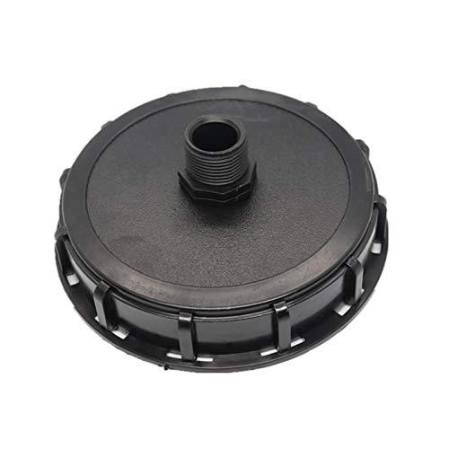 Adaptador de tanque IBC, tapa roscada gruesa del conector del grifo de la manguera de plástico para la válvula de la tonelada IBC, tamaño de la tapa DN 150/225
