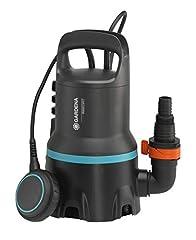 GARDENA 09040-20 Schmutzwasser-Tauchpumpe 9000, Standard