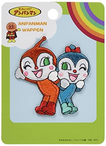 稲垣服飾 アンパンマン ペアワッペン ドキンちゃん&コキンちゃん アイロン接着 APW205