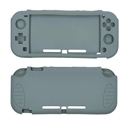Adecuado para Nintendo switch lite host funda de silicona interruptor mini funda protectora experiencia de metal desnudo