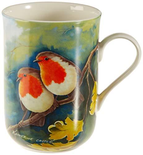 Maxwell & Williams Birds of the World Kaffeebecher, Porzellan, Mehrfarbig, 10,5 x 7,5 x 10,5