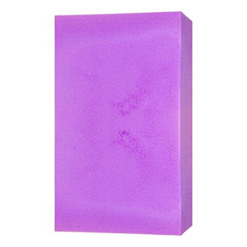 Je Cherche une Idée ME2129 Eponge Super Absorbante, PVA, Bleu/Rose/Vert/Violet, 11,2 x 7 x 3 cm