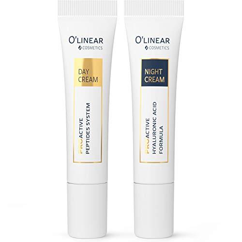 Augencreme mit Vitamin C, B5, COENZYM Q10 und E sowie Hyaluronsäure (2x15ml) – Anti Aging Creme Frauen – Reduziert Augenringe, Schwellungen, Tränensäcke und Falten – Gesichtscreme Damen