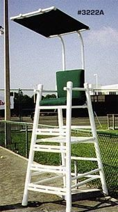 Court Equipment PVC Umpire Chair with Cushion