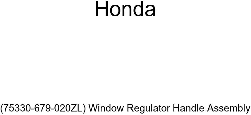 Genuine Honda 75330-679-020ZL Max 51% OFF Window Handle Assembly Purchase Regulator