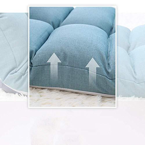 AG Dormitorio Cama Silla, Estudiante Lazy Chair, Colegio Dormitory Artifact Ocio Ajustable Lazy Sofa Fold Floor Chair Balcón Sillón Juego Chair Reading Chai,Azul