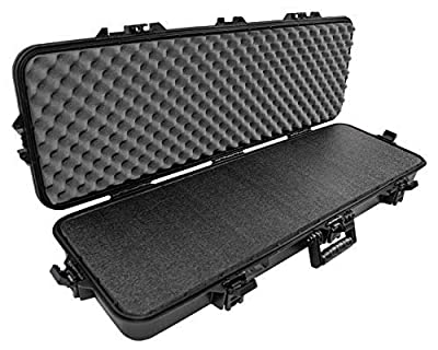 Case Club Hard Waterproof Rifle Case with Closed Cell Military Grade Polyethylene Foam 37.0 x 13.0 x 5.12 Inches