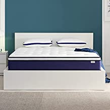 JINGWEI 12 Inch Queen Mattress, Independently & Individually Wrapped Pocketed Encased Coil Pocket Spring Mattress in a Box - Medium Firm Innerspring Bed Mattress for Motion Isolation & More Comfort