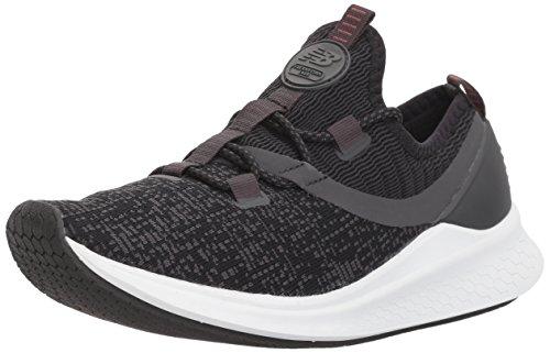 New Balance Women's Lazr v1 Running Shoe, Phantom/Black/White Munsell, 10.5 D US