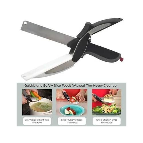 higadget™ Kitchen Smart Cutter 2-in-1 Knife & Chopping Board