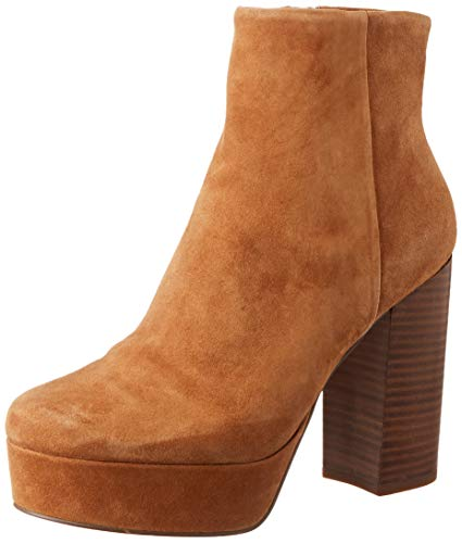 Steve Madden Women's Casual Ankle Boot, Cognac, 4.5 UK