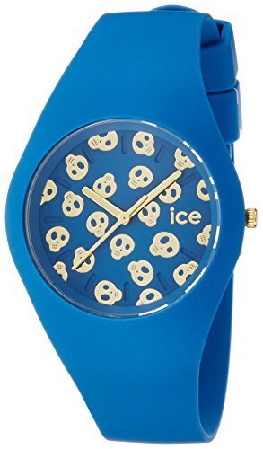Ice-Watch - ICE skull Deep water - Women's wristwatch with silicon strap - 001256 (Medium)