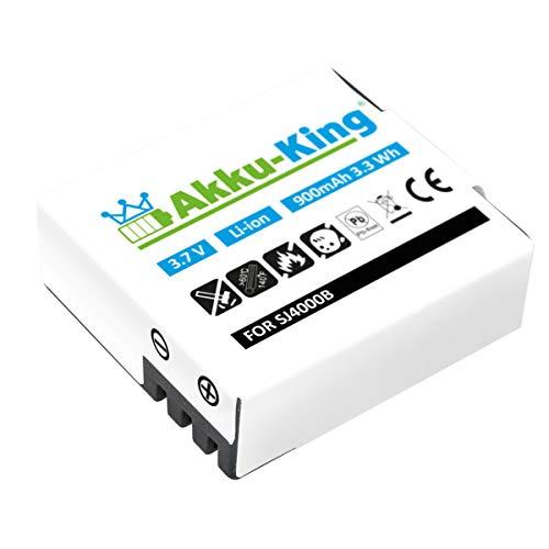 Akku-King Akku kompatibel mit SJCAM M10, SJ4000, SJ5000, SJ5000 Plus, SJ6000, SJ7000, SJ9000 - Li-Ion 900mAh