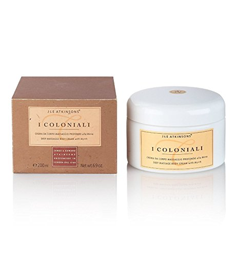 Icoloniali Deep Massage Body Cream 200 ml