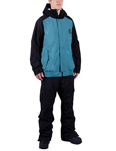 Nitro Herren Snowboard-Jacke Squaw Jacket 15, Storm/Black, L