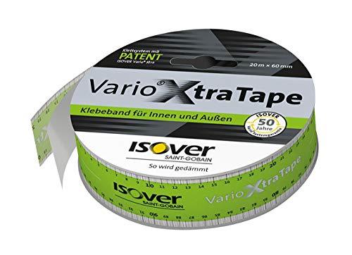 Isover Vario XtraTape Klebeband 20 m x 60 mm für Verklebung der Klimamembran