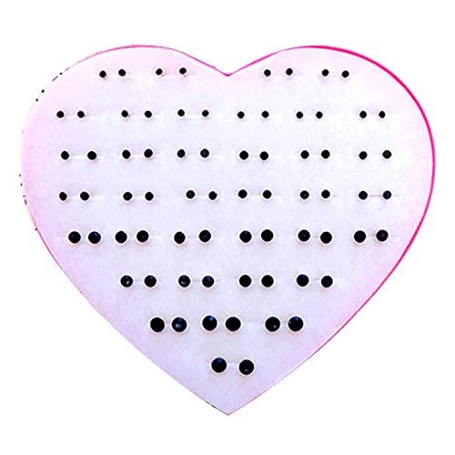 Aretes 40 pares de aretes grandes medianos y pequeños cien talts mini ultra-pequeño anti-alérgico de plástico de plástico pegamento pegamento