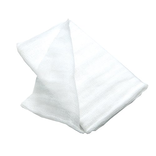 Fox Run Cotton Cheese Cloth, 2 Square Yards, White