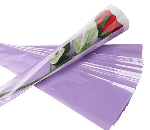 100 pcs unique rose sacs d'emballage bouquet de fleurs sacs d'emballage #14