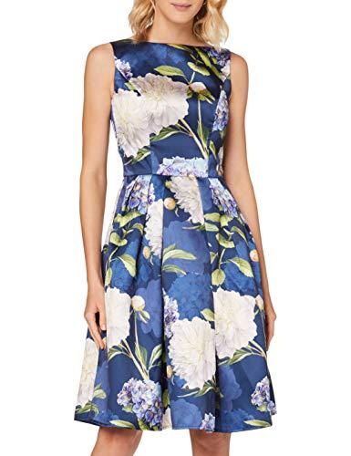Chi Chi London Ilona Vestito Elegante, Blu (Navy NB), 58 (Taglia Unica: 26) Donna