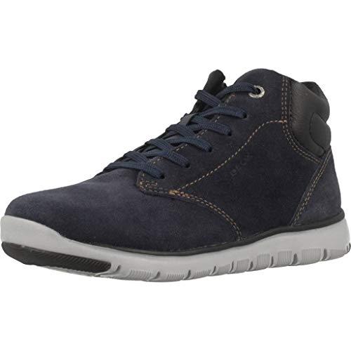 Geox Jungen J XUNDAY BOY A Chukka Boots, Blau (Navy/Black C0045), 38 EU