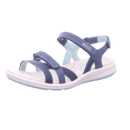 ECCO Women's Cruise Ii Open Toe Sandals, Marine Ice Flower 54668, 6 UK