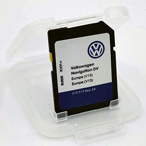 Karte SD Update VW Navigation DV Europa V13 MIB 1-2 / Discover Media PRO MIB 1 und 2/510 919 866 AB