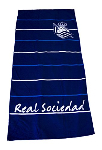 Real Sociedad Toarso Toalla, Blanco/Azul, Talla Única