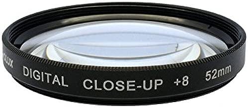 Lens Macro 52mm Panasonic Lumix DMC-FZ200 /& DMC-FZ300 10x High Definition 2 Element Close-Up