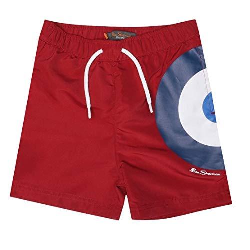 Ben Sherman - Pantalones Cortos con Forro de Malla para niños