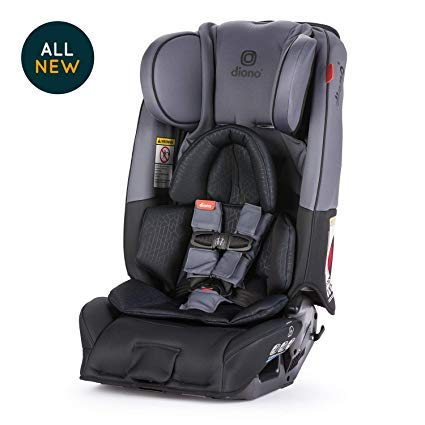 Image of Diono Radian 3RXT All-in-One Convertible Car Seat, Dark Grey