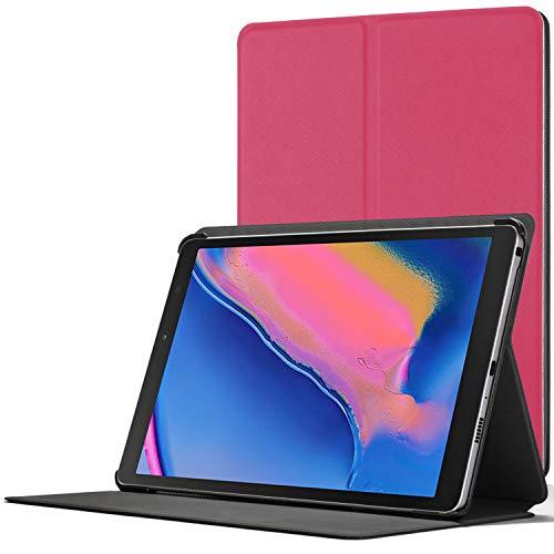 Forefront Cases Funda para Samsung Galaxy Tab A 8.0 2019 - Cover Estuche Protector con Cierre Magnético para Samsung Galaxy Tab A 8.0 2019 P200/P205 - Elegante Delgado Ligero - Rosa