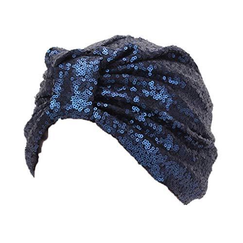 Dsaren Chemo Turban Damen Weich Slouchy Beanie M/ütze Headwear Muslimische Kopftuch Hut Strass Schlafm/ütze f/ür Damen Haarverlust Cancer