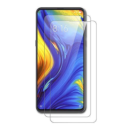 AICEK [2 Stück] Xiaomi Mi Mix 3 Schutzfolie, Tempered Glass Bildschirmschutzfolie für Xiaomi Mix 3 Schutzglas Screen Protector Gehärtetem Glas Bildschirmschutz Xiaomi Mix 3 Panzerglas (6,39 Zoll)