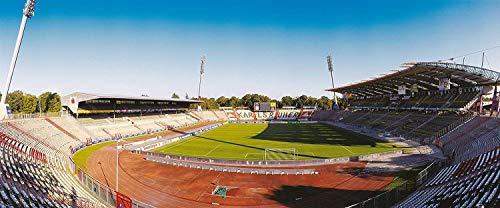 Karlsruhe Stadion Panorama – Poster 240 x 100 cm – hochwertiger FineArtPrint