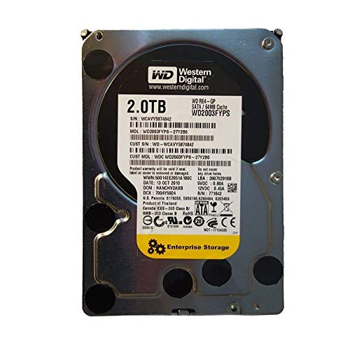 Western Digital WD2003FYPS RE4 2TB internal hard drive 3,5