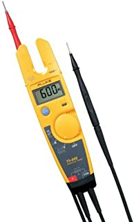 Fluke T5-600 USACAL 600V Voltage Continuity and Current Tester with a NIST-Traceable Calibration Certificate with Data
