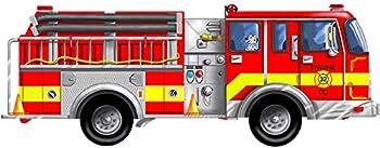 24-Piece Melissa & Doug Fire Truck Jumbo Jigsaw Floor Puzzle