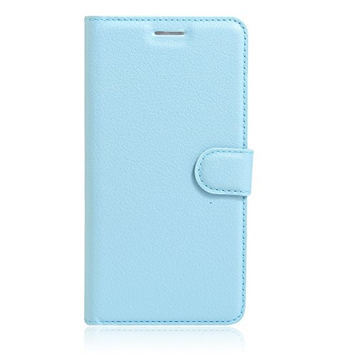 UMI Rome X Case, Mixneer Fashion Wallet Folio Sleeve Magnetic PU Flip Leather Holder Stand Soft TPU Inner Bumper Protective Case Cover for UMI Rome X - Blue