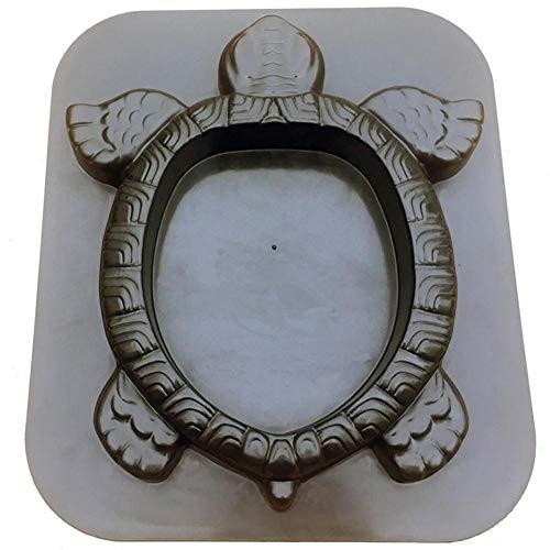 Xploit Betonpflasterform, DIY Persönlichkeit Schildkröte Trittstein Maker Form für Garten Rasen Pathmate Stein Dekoration
