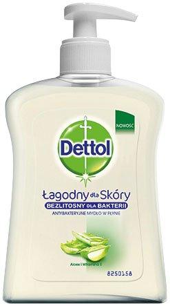 Dettol 3028287 250ml - Jabón (Skin, Jabón líquido, Aloe Vera, Antibacteriano, Hidratante, Vitamin E, 250 ml)