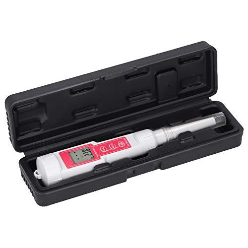 Stylo de testeur de pH d'analyseur de pH de Sol Portable pour Outil de Test Alimentaire de pâte de Fruits Mesure à Domicile
