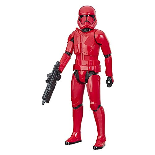 """Star Wars Hero Series The Rise of Skywalker Sith Trooper Toy 12"""" Scale Action Figure, Toys for Kids Ages 4 & Up"""