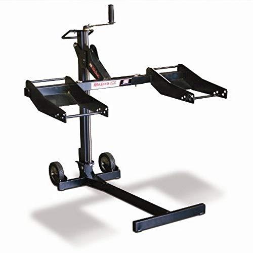 MoJack MJ-EZ Riding Lawn Mower Lift, 300-pound, black